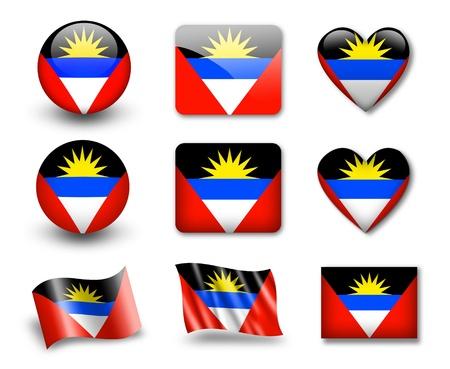 antigua: The Antigua and Barbuda flag