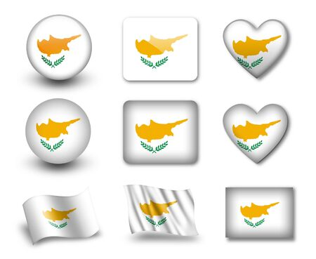 The Cypriot flag photo