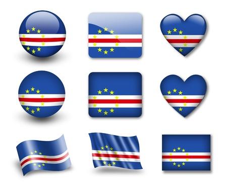 cape verde flag: The Cape Verde flag