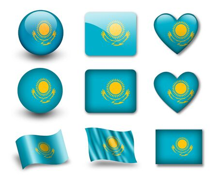 kazakhstan: The Kazakh flag
