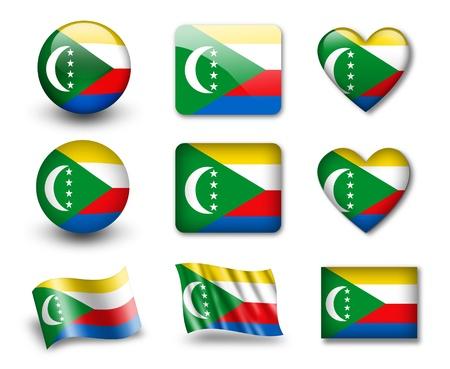 comoros: The Comoros flag