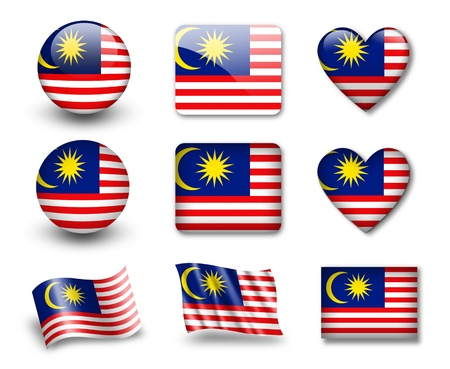 The Malaysia flag photo
