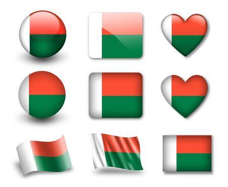 madagascar: The Madagascar flag
