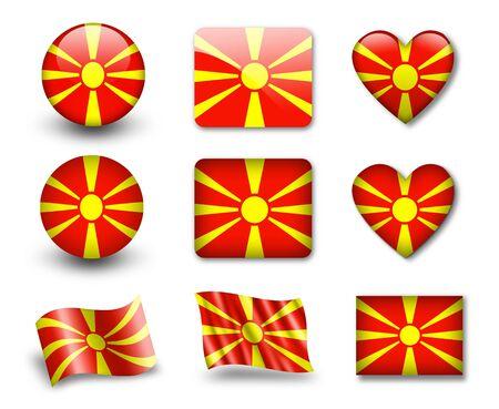 The Macedonia flag