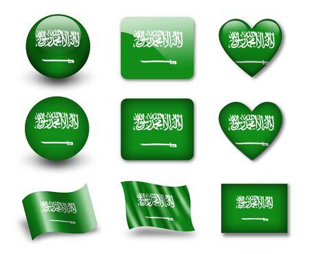 national colors: The Saudi Arabia flag