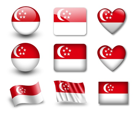 The Singapore flag Editorial