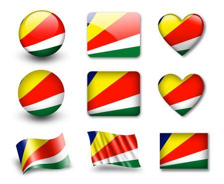 The Seychelles flag photo