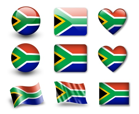 The South African Republic flag photo