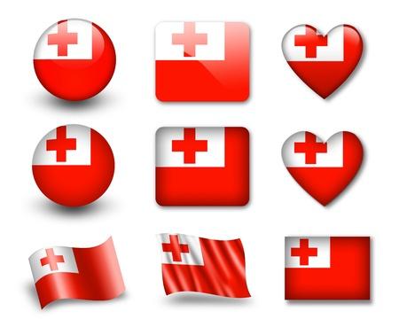 The Tonga flag photo