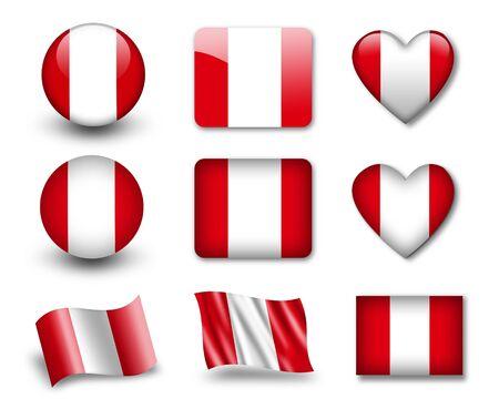 bandera peru: La bandera de Per�