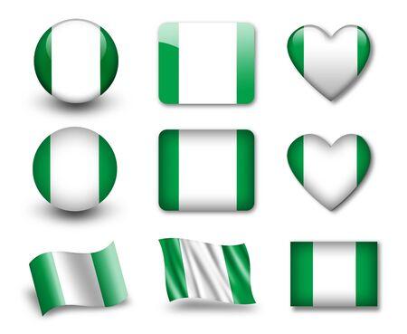 nigerian: The Nigerian flag