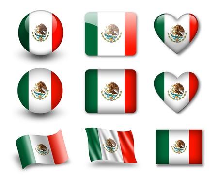 drapeau mexicain: Le drapeau mexicain