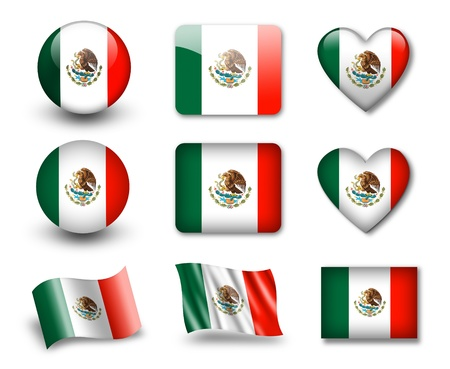 flag mexico: The Mexican flag