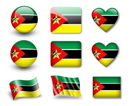 Mozambique: The Mozambique flag