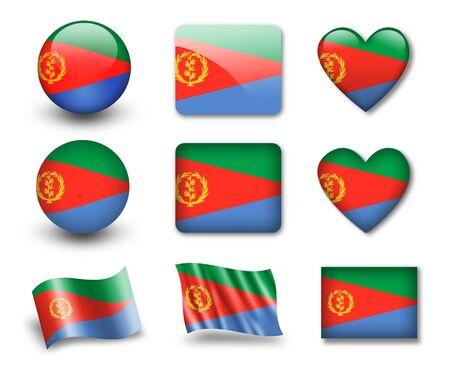 The Eritrea flag photo