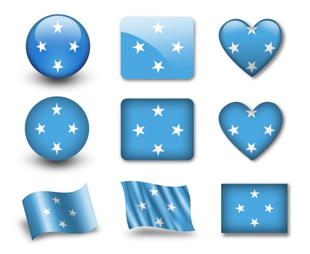 The Micronesia flag photo