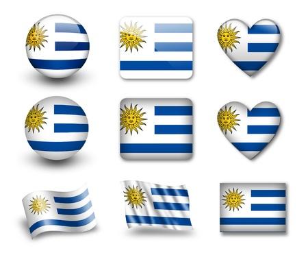 uruguay: The Uruguayan flag