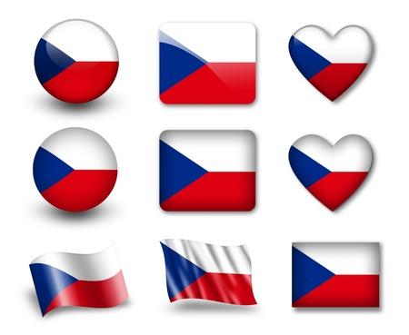 czech republic: The Czech flag