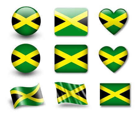 jamaica: The Jamaica flag
