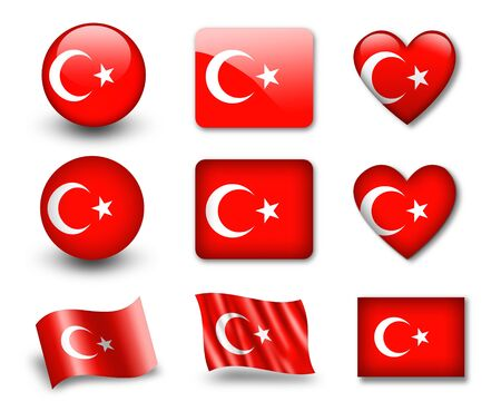 turkish flag: The Turkish flag