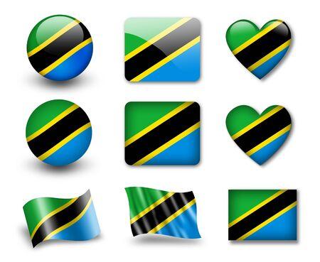 The Tanzania flag photo