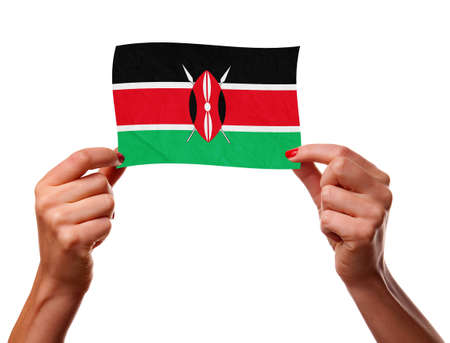 The Kenyan flag photo