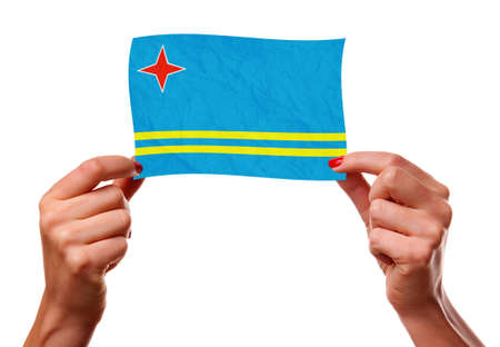 The Aruba Flag photo