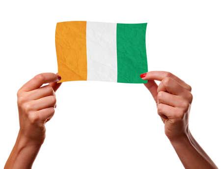 cote d ivoire: The Republic of Cote d Ivoire flag