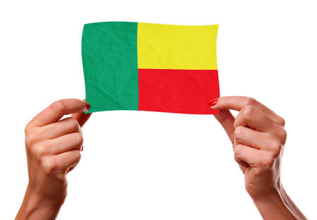 The Benin flag photo