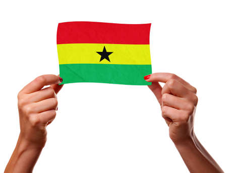 The Ghana flag photo