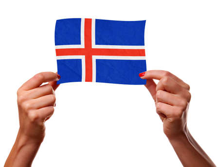 The Icelandic flag photo