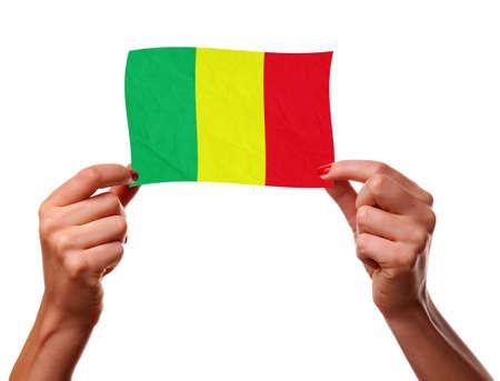 La bandera de Mal� Foto de archivo - 12407135