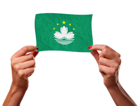 macau: The Macau flag