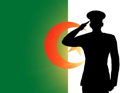 Algierski: Algierczyk flaga