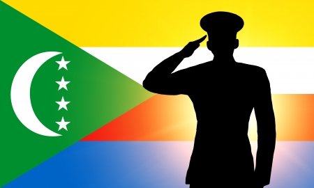 The Comoros flag photo