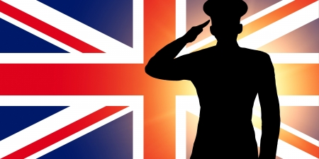 The British flag Stock Photo - 13996241