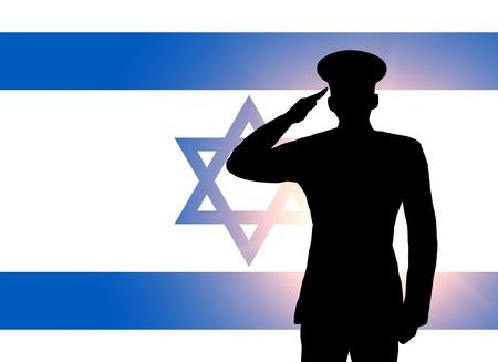 israel: The Israeli flag