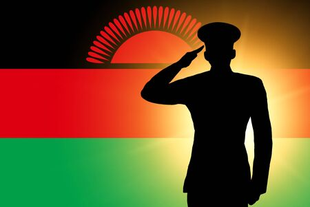 The Malawi flag photo