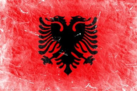 albanian: The Albanian flag