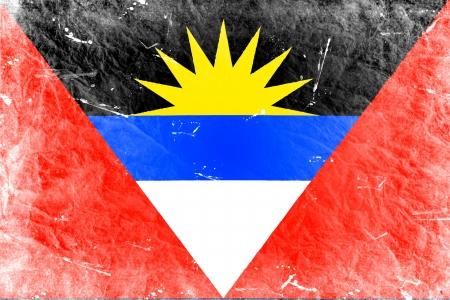 antigua flag: The Antigua and Barbuda flag