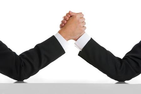 business rival: Concepto de negocio comptetition rival