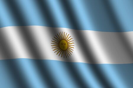 argentine: The Argentine flag
