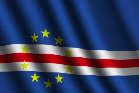 cape verde: The Cape Verde flag
