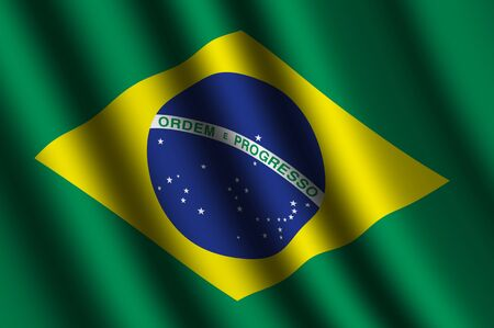 The Brazilian flag photo