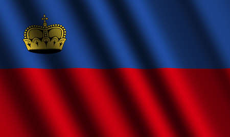 liechtenstein: The Liechtenstein flag