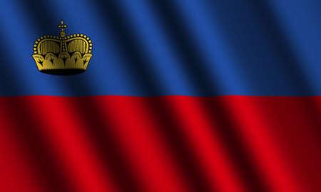 liechtenstein: The Liechtenstein flag