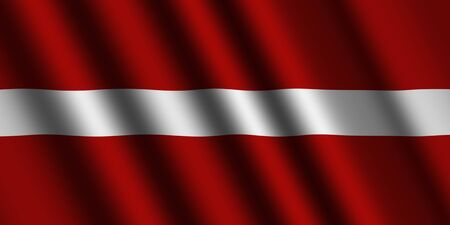The Latvian flag photo