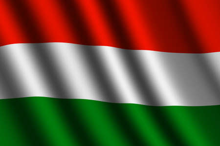 The Hungarian flag photo