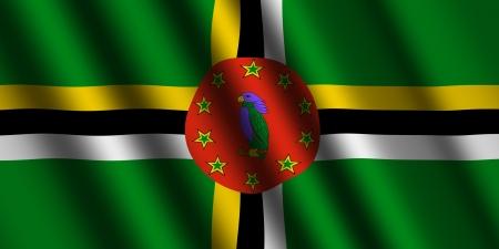dominica: The Dominica flag