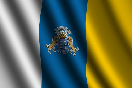 canary: The Canary Islands flag